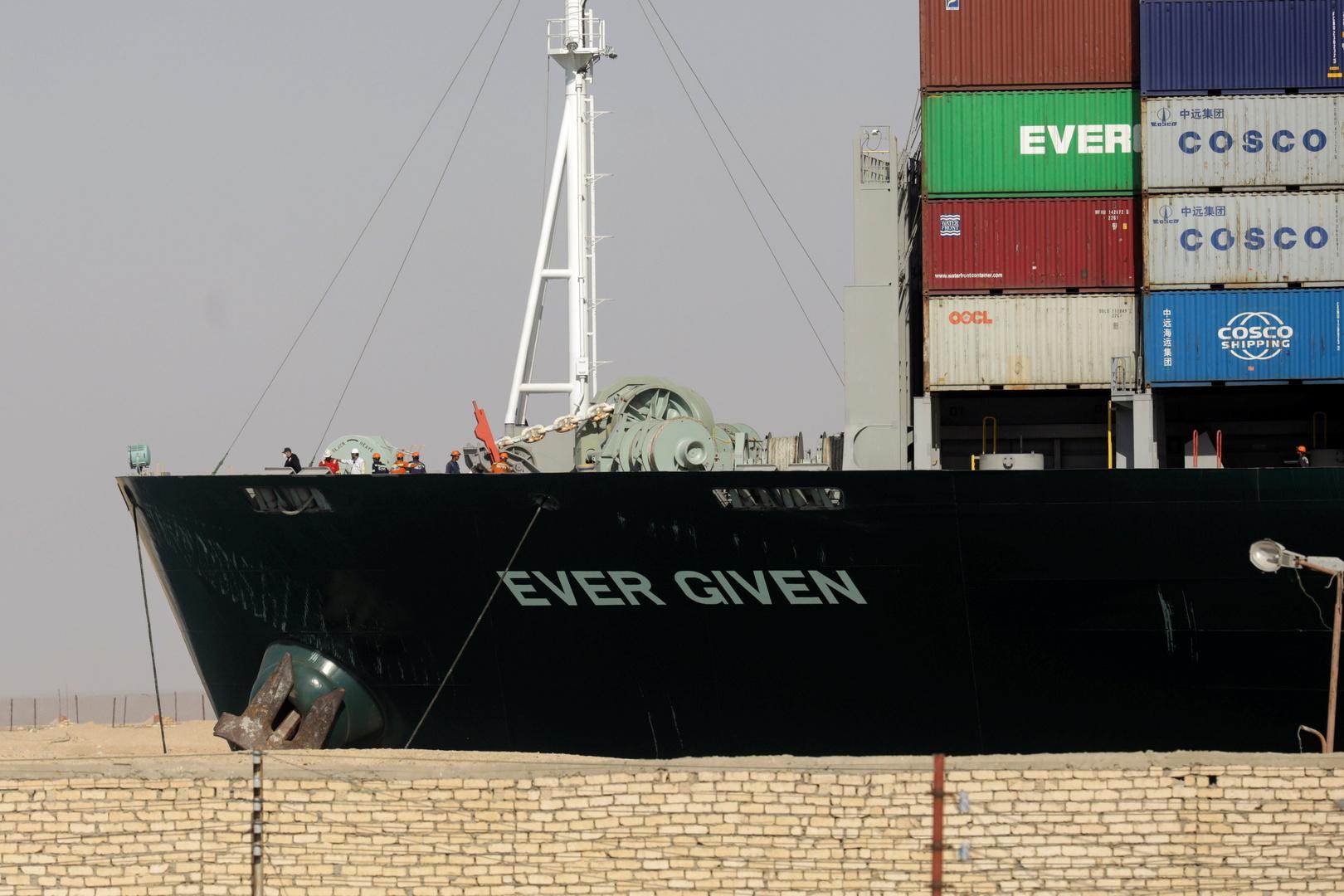 محكمة مختصة في مصر ترفض تظلم مالك سفينة الشحن