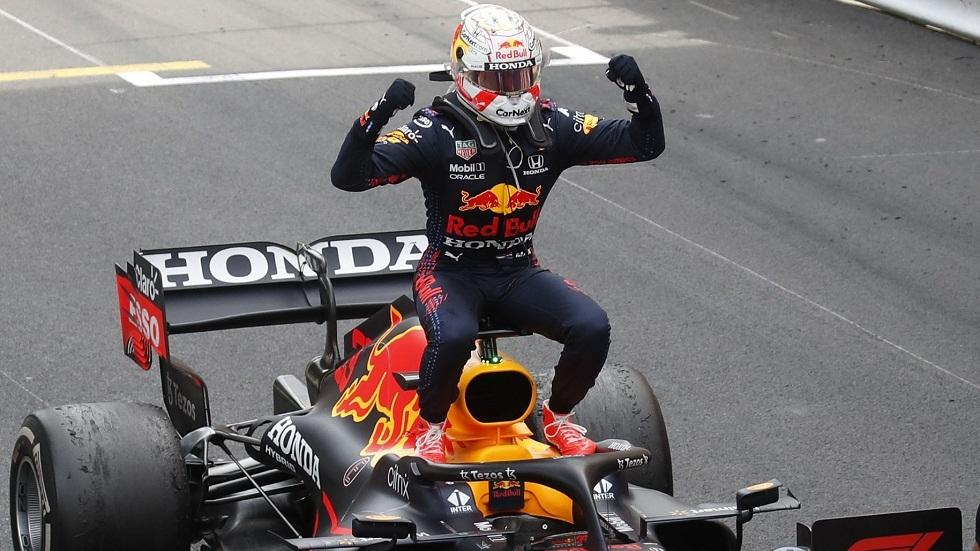 الهولندي فرستابن يفوز بسباق موناكو للفورمولا 1 وينتزع الصدارة من هاميلتون