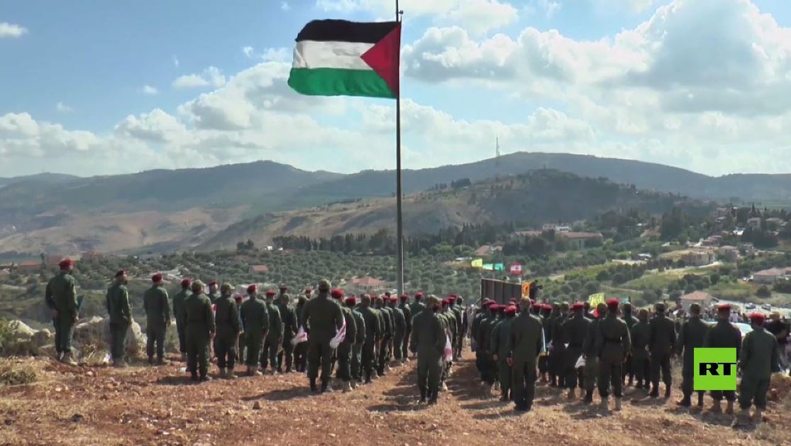 بالفيديو.. أنصار حزب الله يحيون ذكرى انسحاب إسرائيل من جنوب لبنان