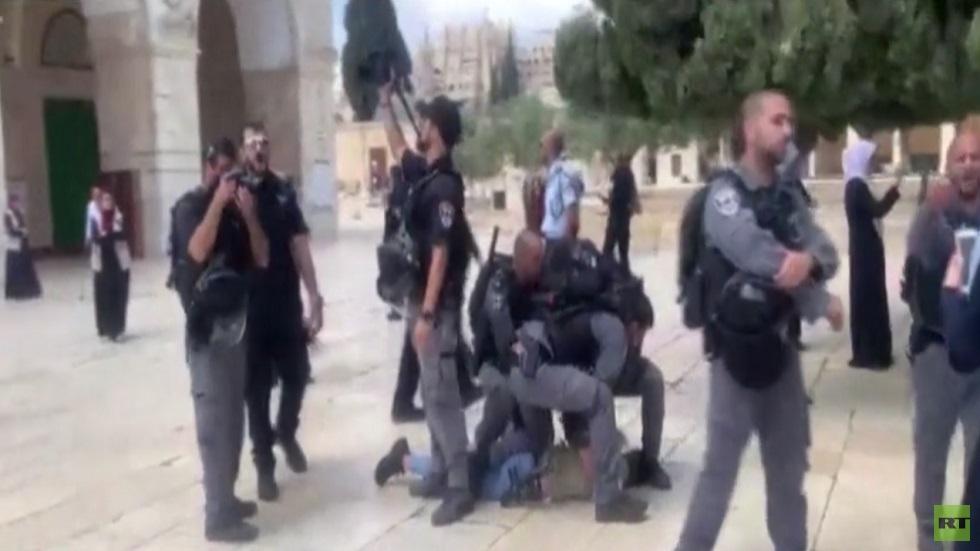 تجدد الاقتحامات الإسرائيلية للمسجد الأقصى