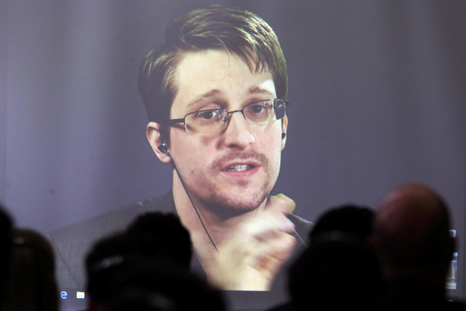 الموظف السابق في الاستخبارات الأمريكية إدوارد سنودن