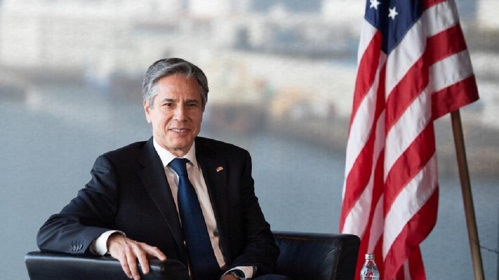بلينكن يؤكد عزم واشنطن إعادة فتح القنصلية الأمريكية في القدس وتعزيز العلاقات مع الفلسطينيين