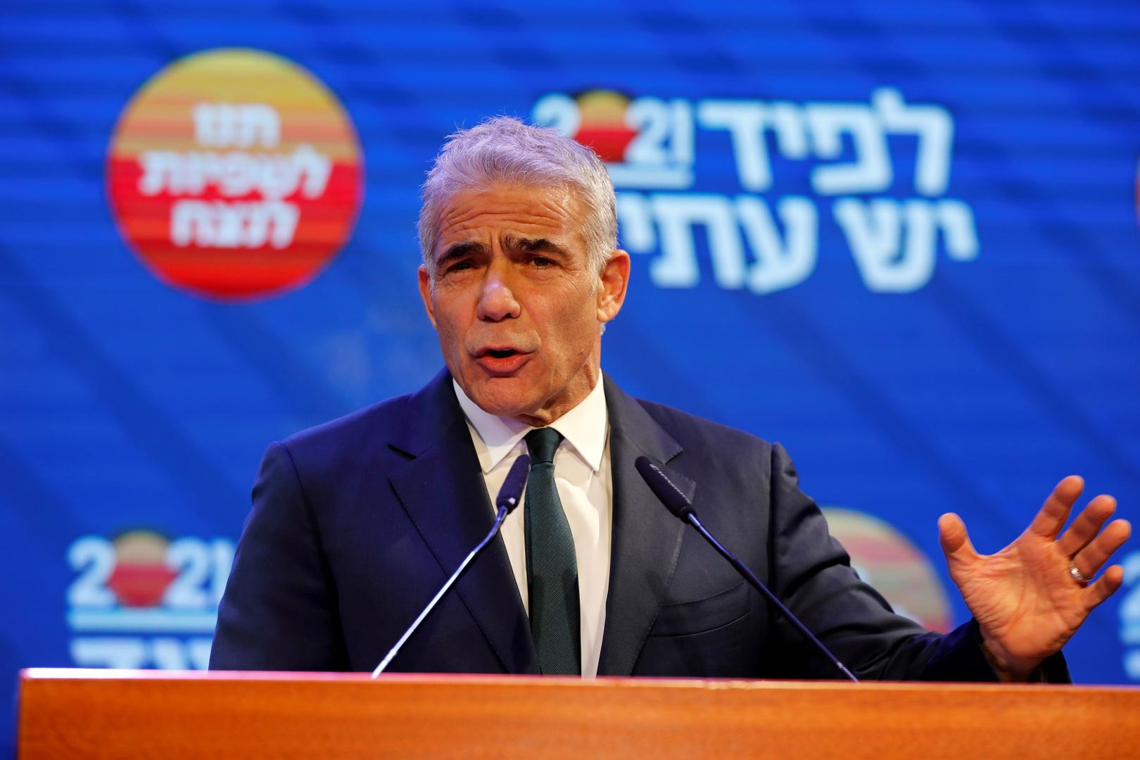 يائير لابيد المكلف تشكيل الحكومة الإسرائيلية