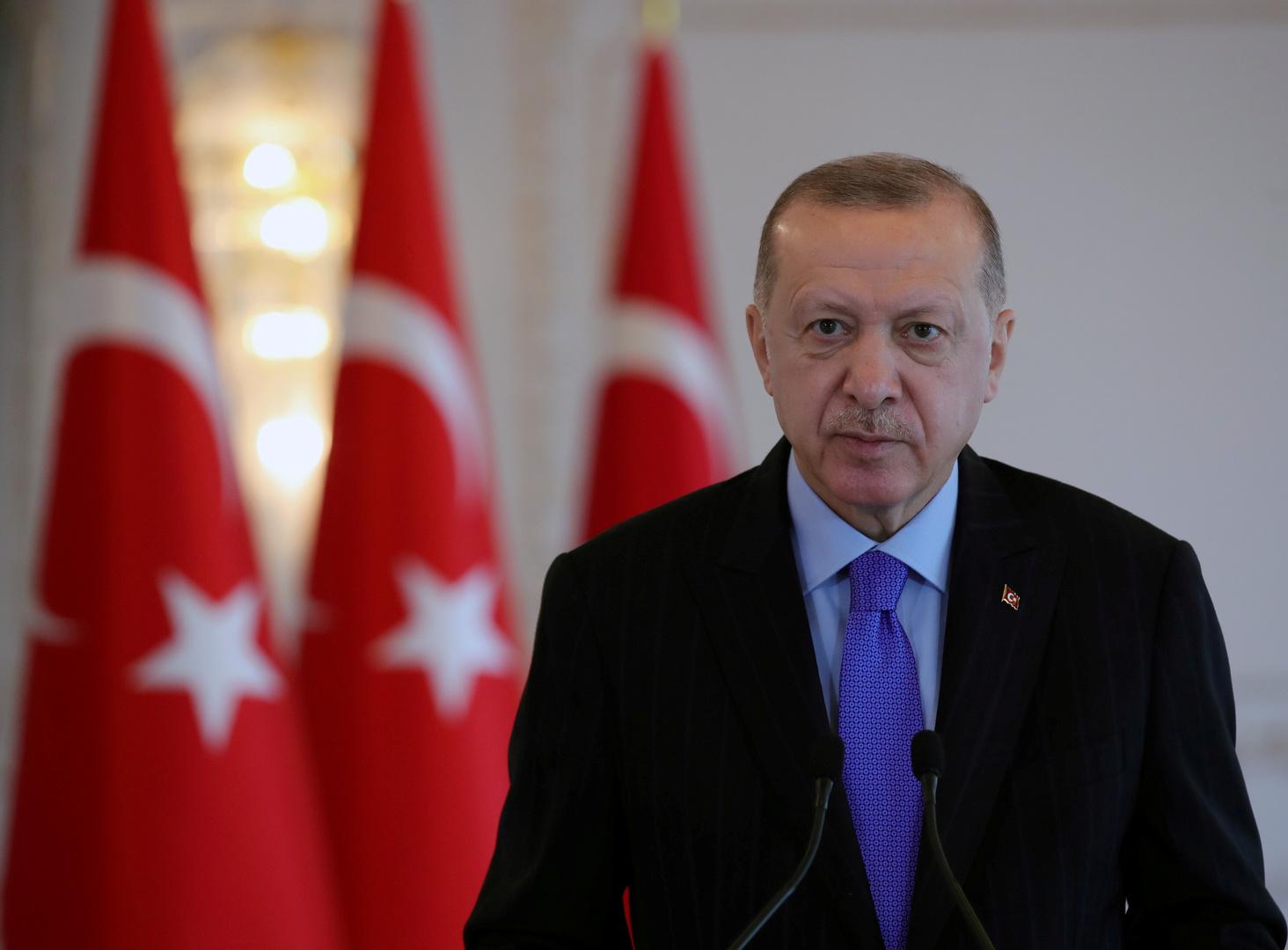 أردوغان: 180 طائرة مسيرة تركية تؤدي مهامها في 4 دول