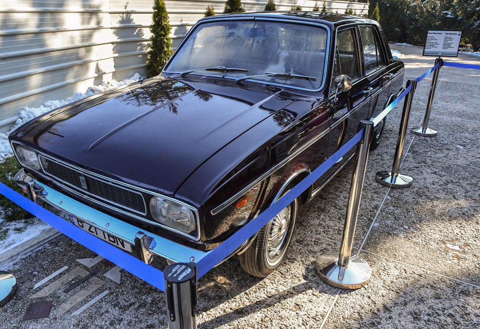 إيرانيون يسعون إلى استعادة سيارة فاخرة كان الشاه أهداها إلى تشاوشيسكو في السبعينيات