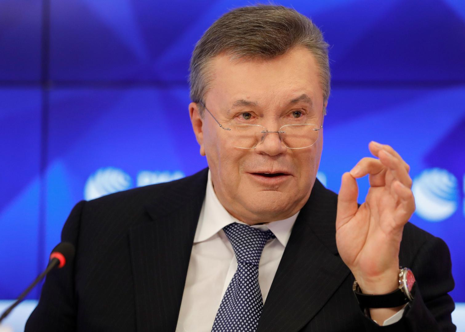 سلطات أوكرانيا: سنواصل مطالبة روسيا بتسليمنا يانوكوفيتش