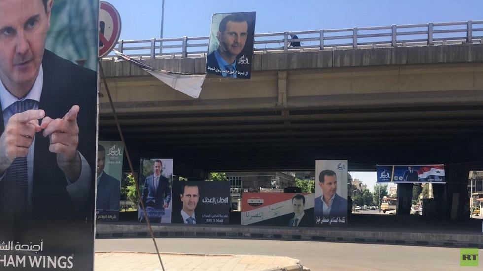 الإعلان رسميا عن فوز الأسد بولاية رئاسية جديدة