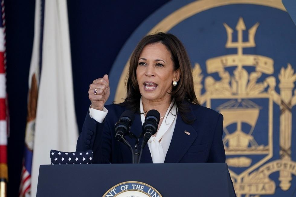 كامالا هاريس نائبة الرئيس الأمريكي جو بايدن