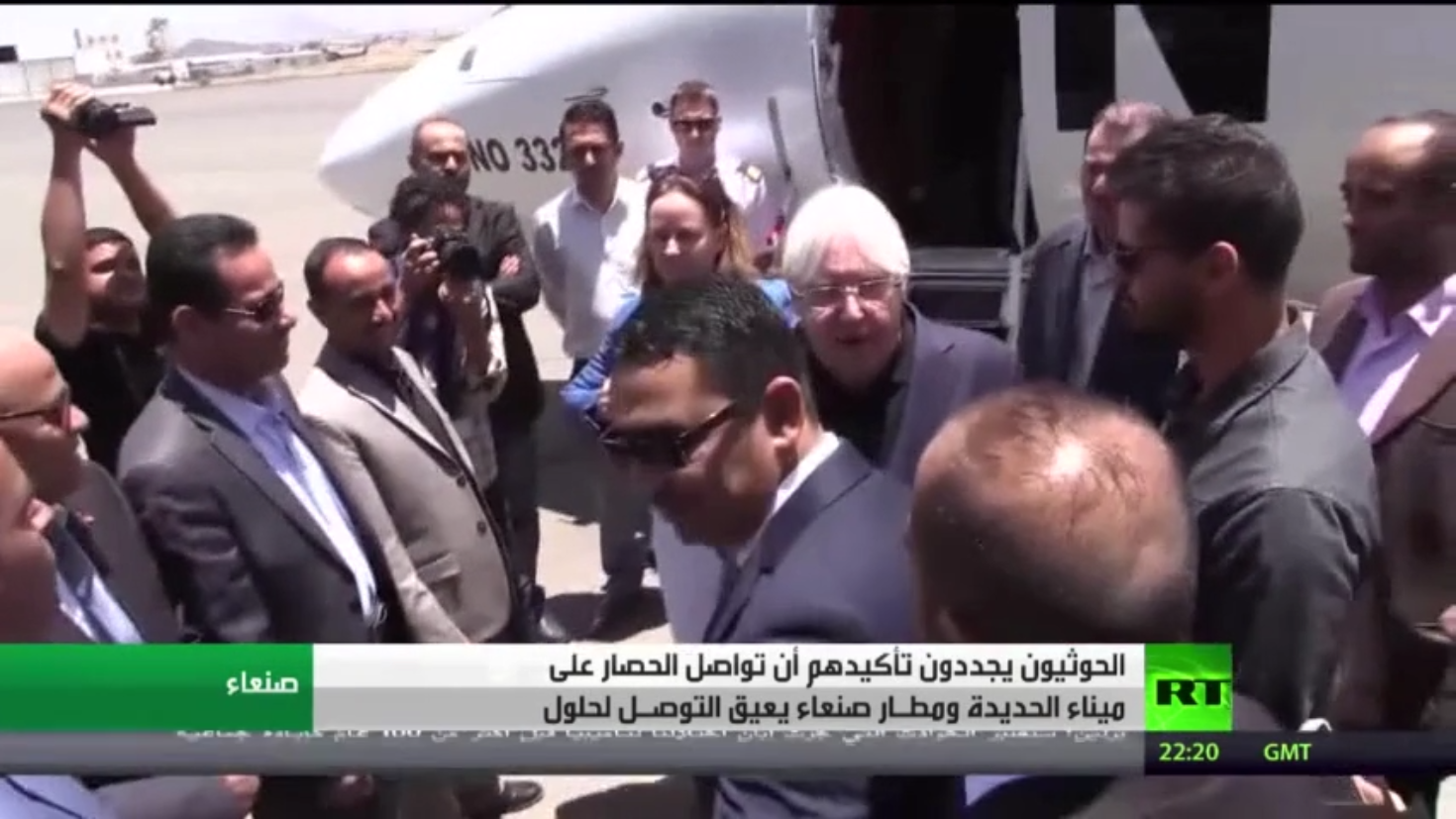 غريفيث: لا تزال هناك إمكانية لحل نزاع اليمن