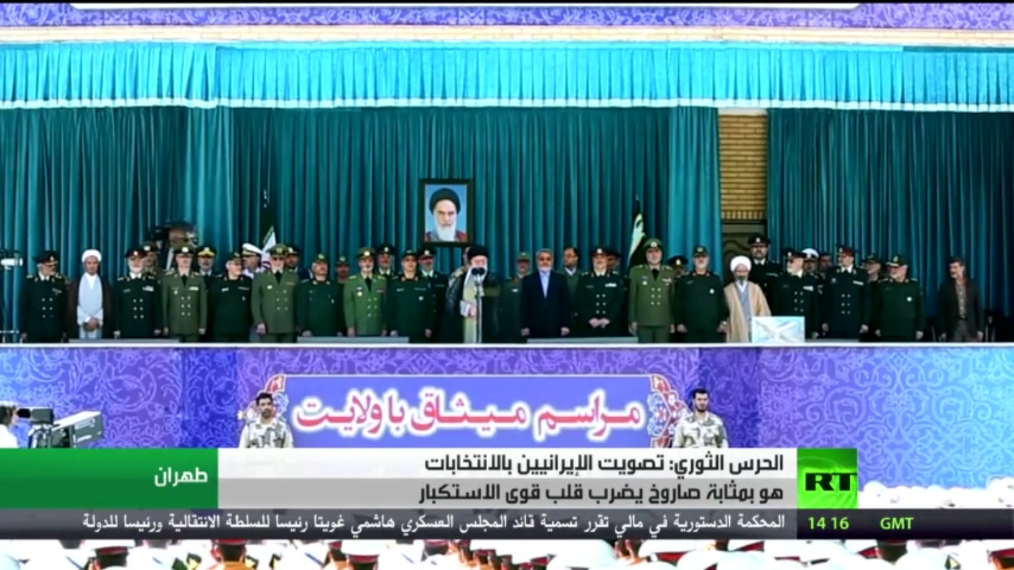 الحرس يدعو الإيرانيين للمشاركة بالانتخابات