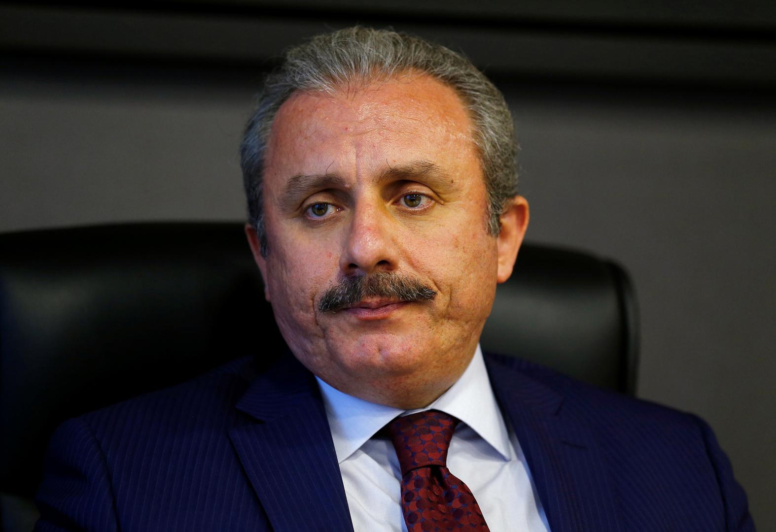 رئيس البرلمان التركي: إسرائيل أدركت جيدا أن القوة لن تردع الفلسطينيين