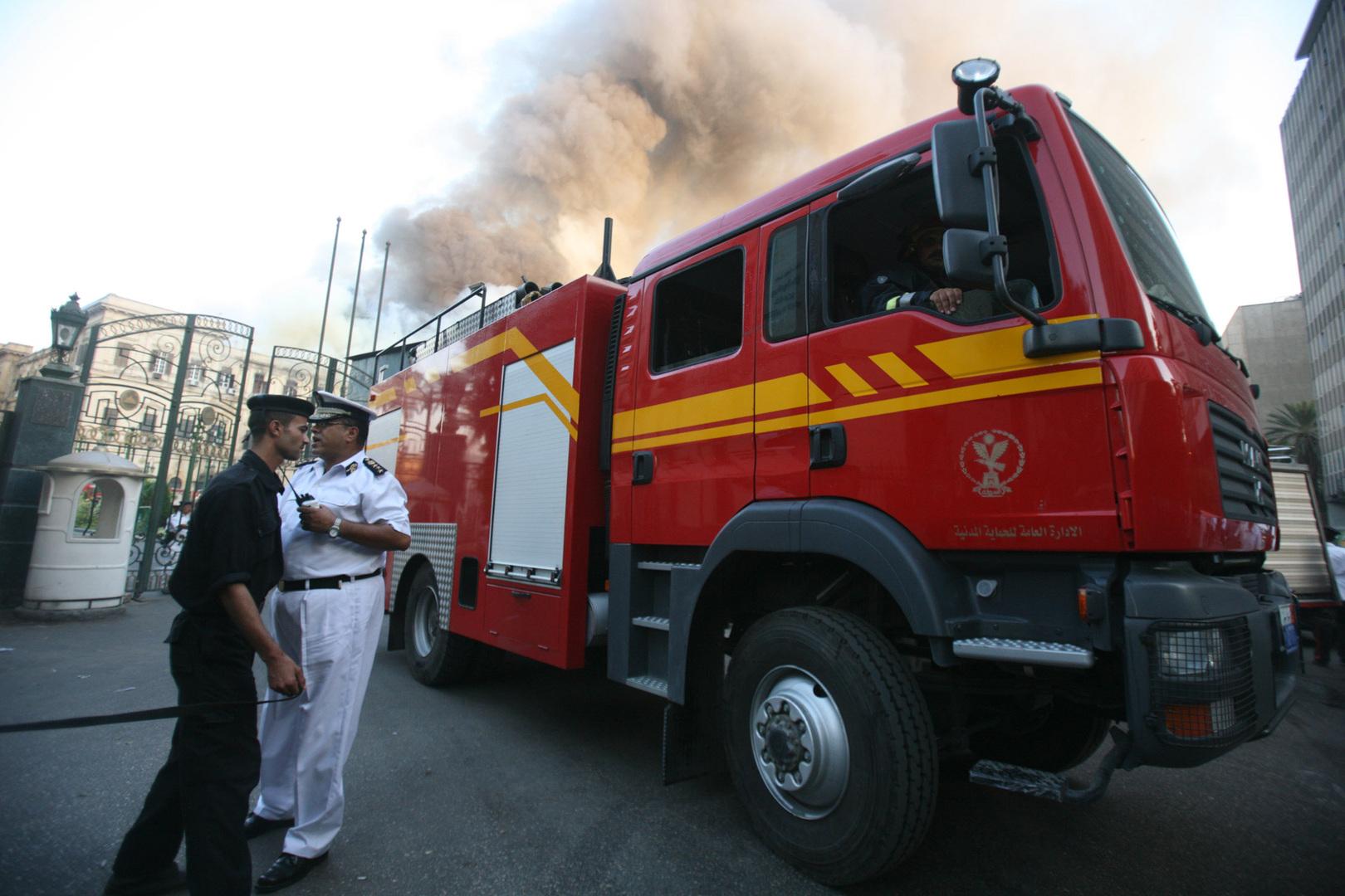 مصر.. حريق هائل في 4 مصانع كاد أن يتسبب في كارثة كبيرة (صور)