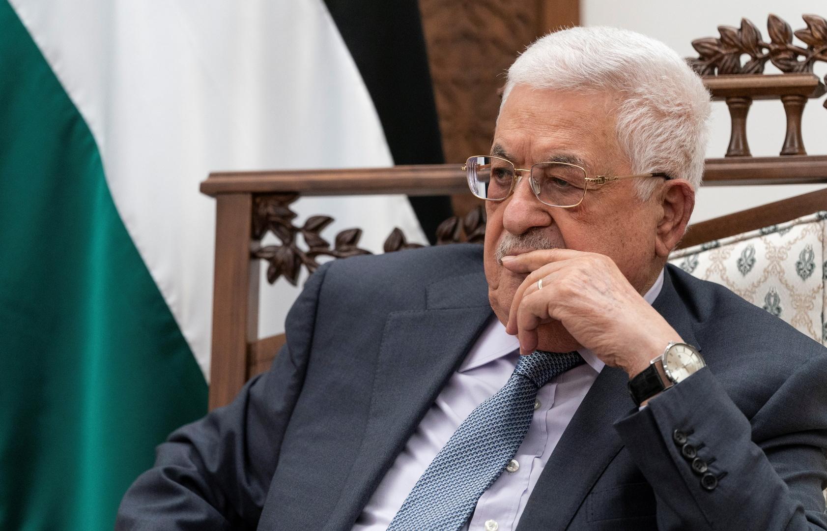 عباس يبحث مع مدير المخابرات المصرية