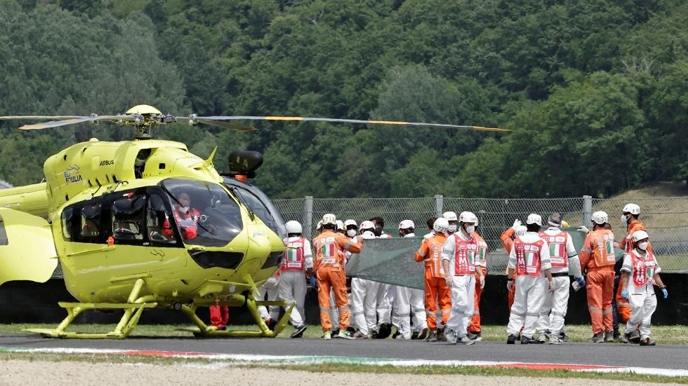 وفاة الدراج السويسري دوباسكييه إثر حادث في جائزة إيطاليا
