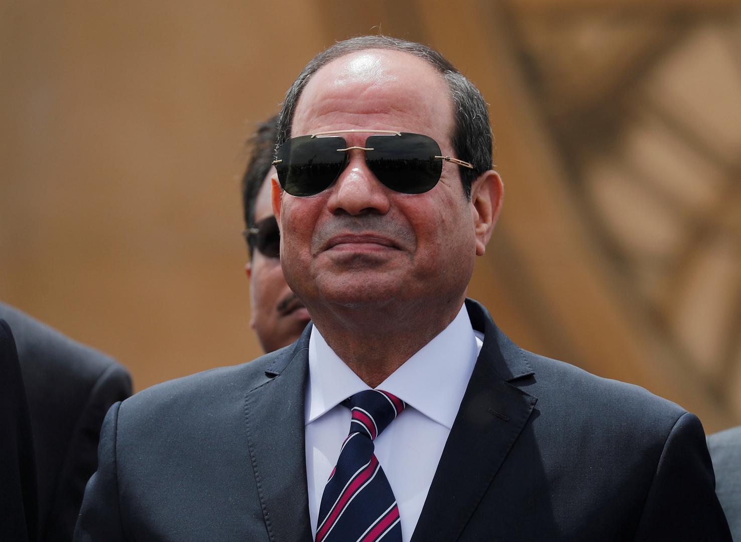 مصر تقدم هدايا لفلسطين بتوقيع من السيسي