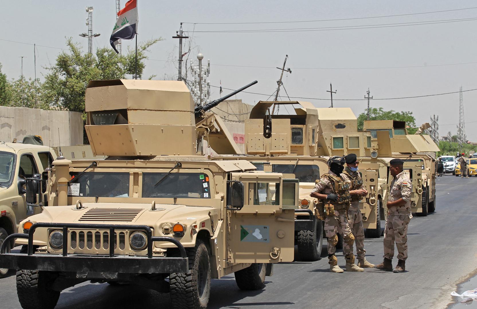 القوات العراقية تحبط عملية إطلاق خمسة صواريخ (غراد) بشمال البلاد