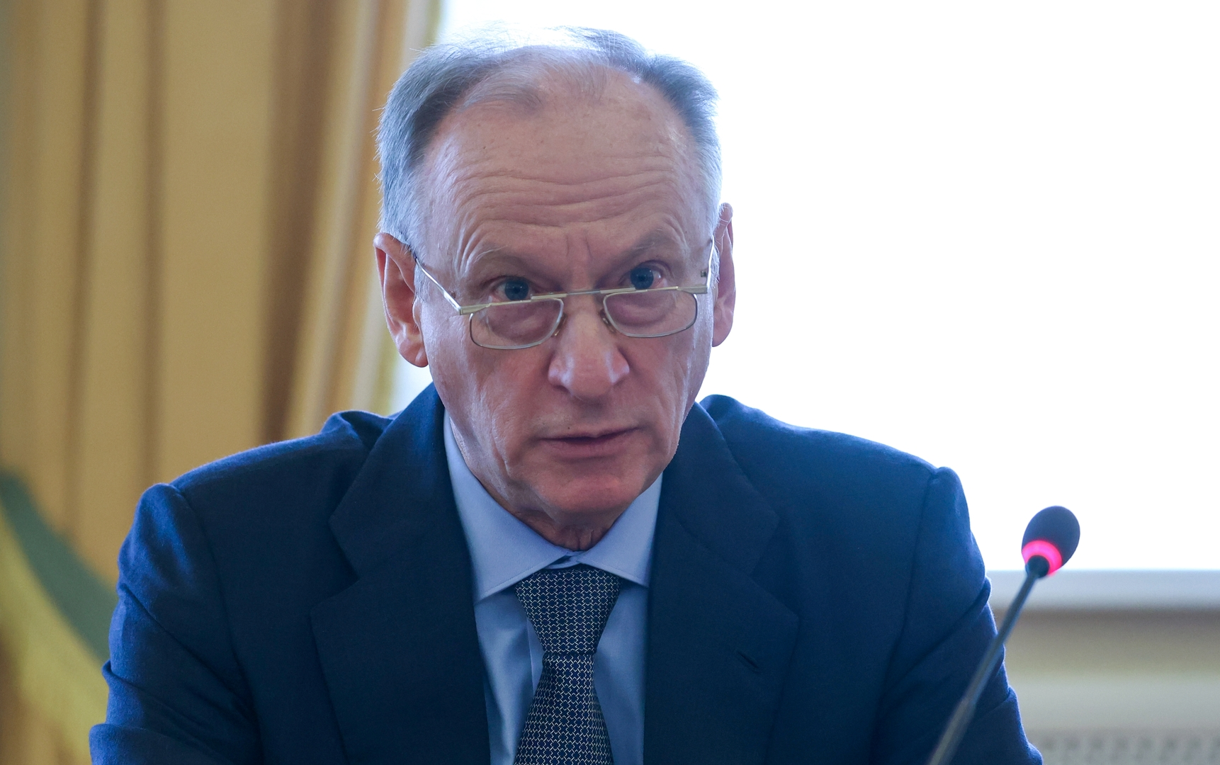 سكرتير مجلس الأمن الروسي، نيقولاي باتروشيف.