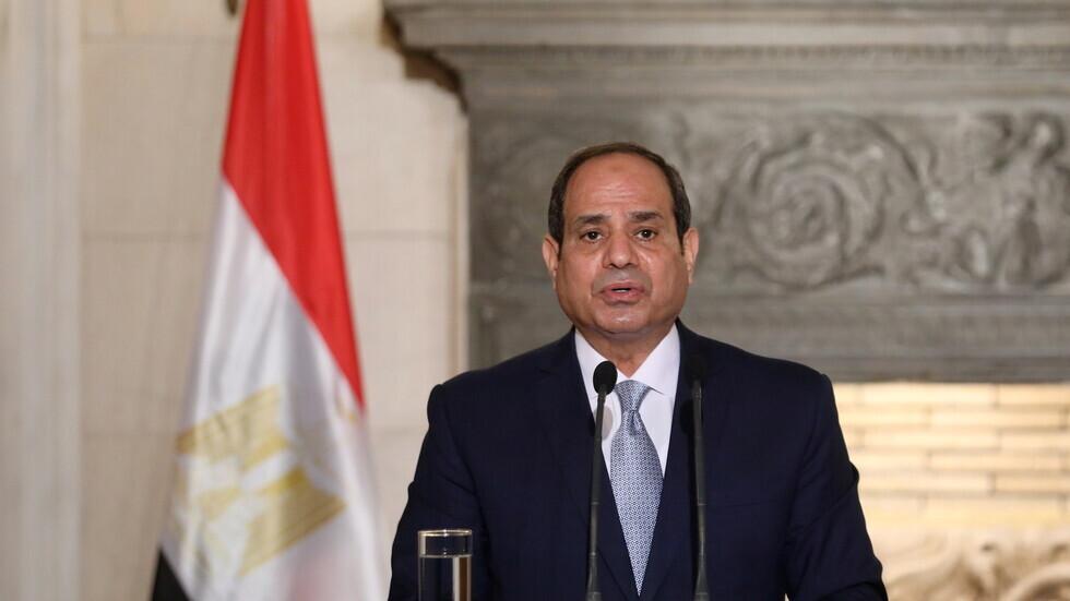 الرئيس المصري، عبد الفتاح السيسي.