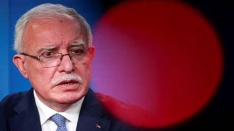 وزير الخارجية الفلسطيني يصل إلى موسكو في مستهل جولة أوروبية