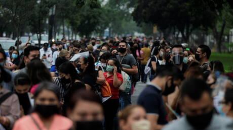 ارتفاع حصيلة وفيات كورونا في المكسيك إلى أكثر من 217 ألفا