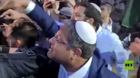 """زيارة """"استفزازية"""" لايتمار بن غفير إلى الشيخ جراح"""