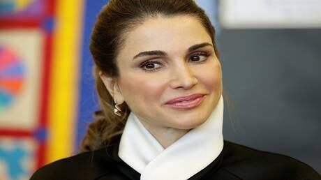 الملكة رانيا العبد الله تغردفي أحب الليالي: اللهم أنعم علينا بالسكينة