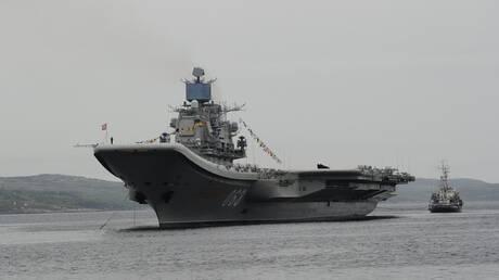"""حاملة الطائرات الروسية """"كوزنيتسوف"""" تحصل على معدات تقنية جديدة"""