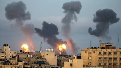بالصور.. اثار القصف الإسرائلي على غزة