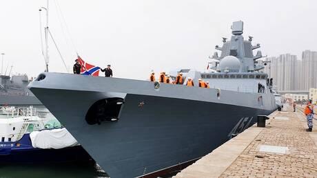 روسيا تدعم قواتها البحرية بسفينة قتالية كبيرة