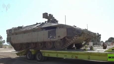 إسرائيل تنشر فيديو لمعداتها العسكرية استعدادا لعملية برية في غزة