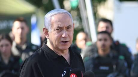 """نتنياهو يتوعد حركة """"حماس"""" بضربات قاسية ويبعث برسالة شكر لزعماء دول كبرى"""