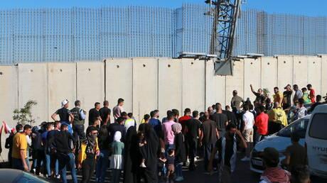 إصابة متظاهرين اثنين برصاص الجيش الإسرائيلي عند الجدار الفاصل في العديسة جنوبي لبنان