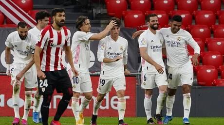 """ريال مدريد يهز شباك بيلباو بهدف """"ذهبي"""".. فيديو"""