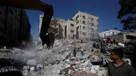 الصحة الفلسطينية في غزة تعلن مقتل 197 وإصابة أكثر من 1235 في الهجمات الإسرائيلية