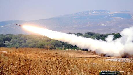 بالفيديو.. لحظة إطلاق الصواريخ من لبنان على إسرائيل