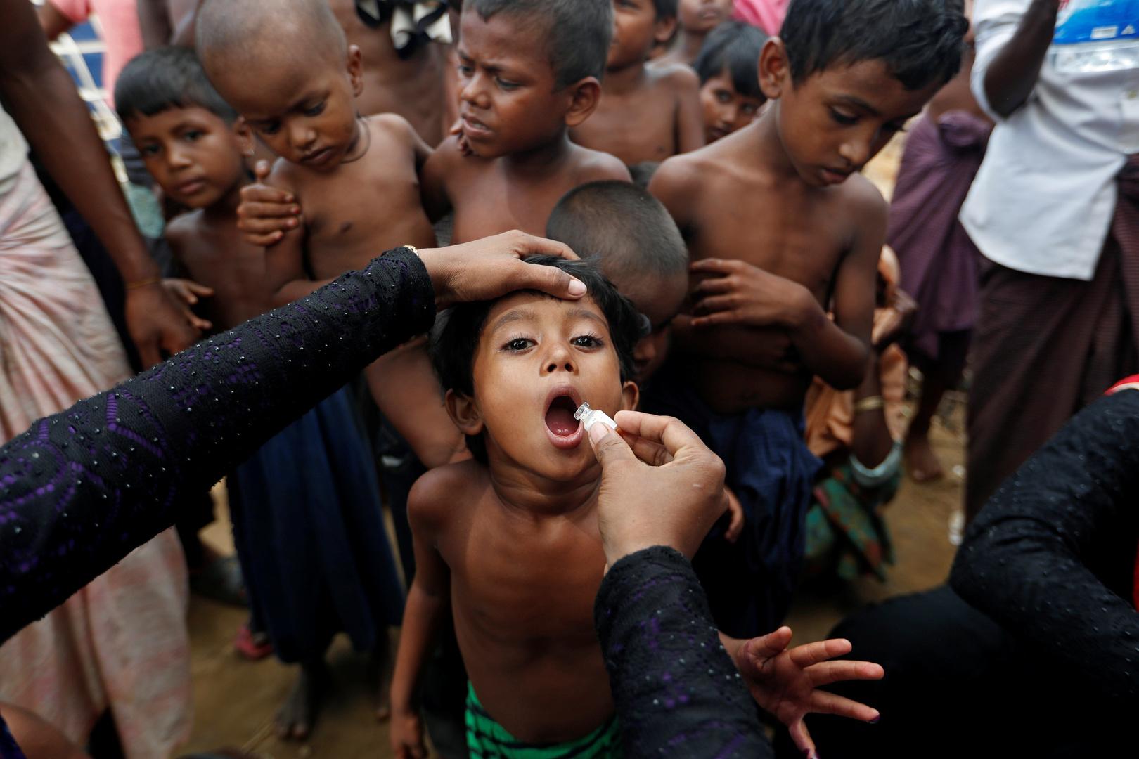 التطعيم ضد الكوليرا عبر لقاح الكوليرا الفموي