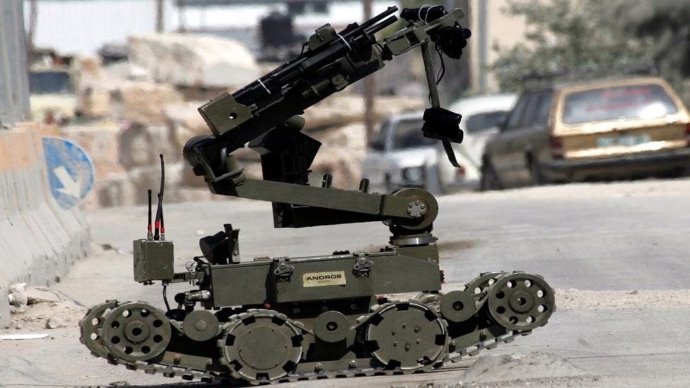 روبوت عسكري إسرائيلي - أرشيف