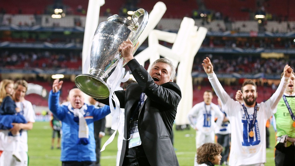 رسميا.. ريال مدريد يعلن تعاقده مع المدرب الإيطالي كارلو أنشيلوتي