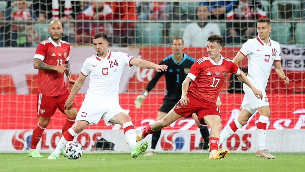 روسيا تتعادل مع بولندا وديا استعدادا لأمم أوروبا (فيديو)
