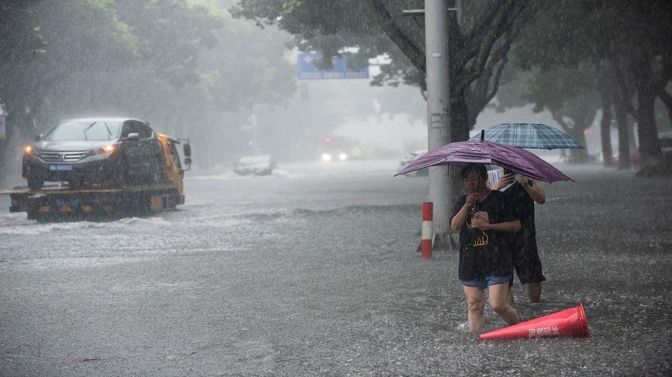 الأعاصير في الصين - أرشيف