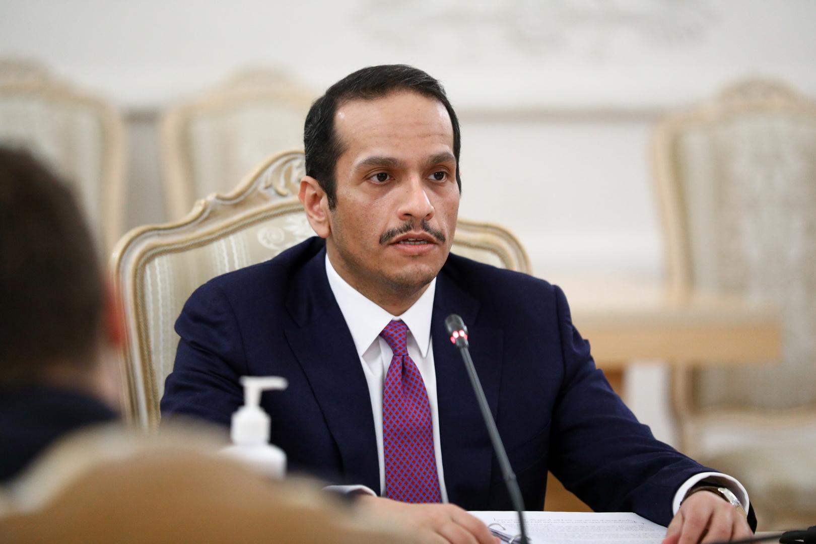 وزير الخارجية القطري محمد بن عبدالرحمن آل ثاني