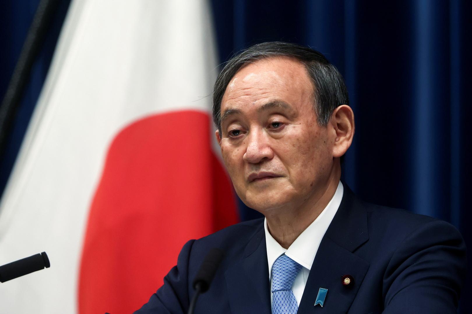 رئيس الوزراء الياباني يوشيهيدي سوغا