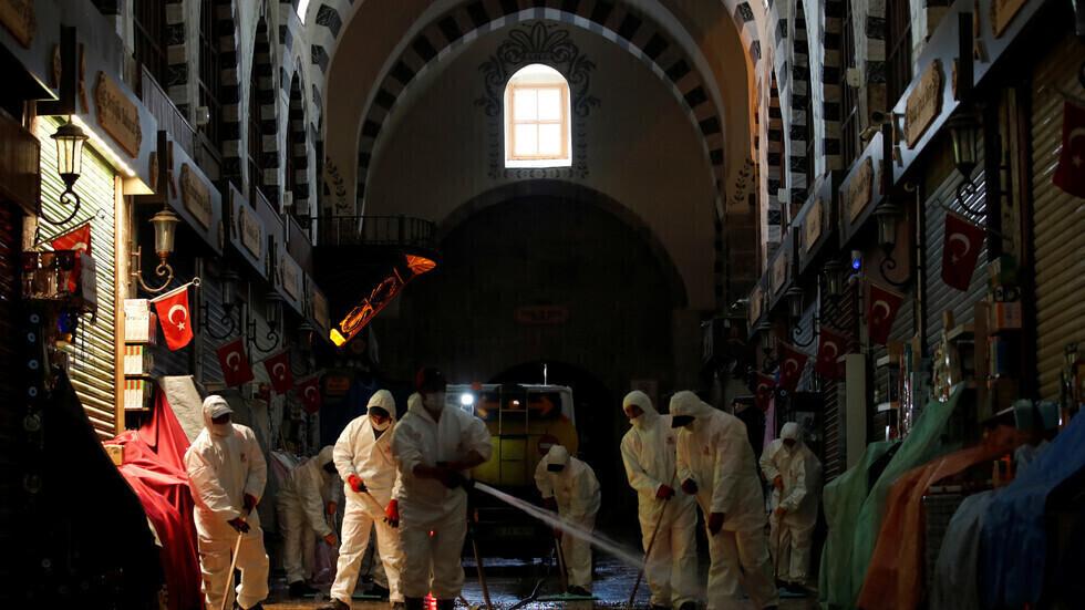 تركيا ترصد 7181 إصابة و112 وفاة جديدة بكورونا