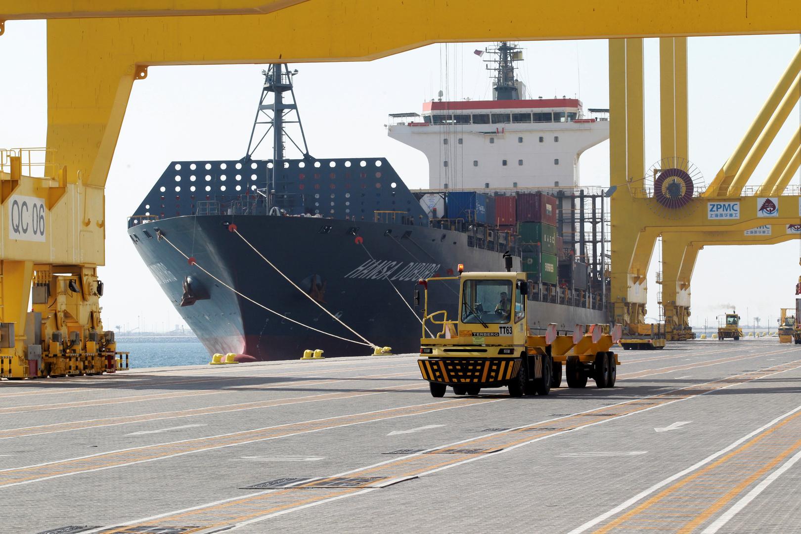 صورة تعبيرية - ميناء حمد في قطر