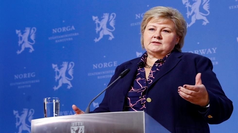 رئيسة وزراء النرويج إرنا سولبرغ