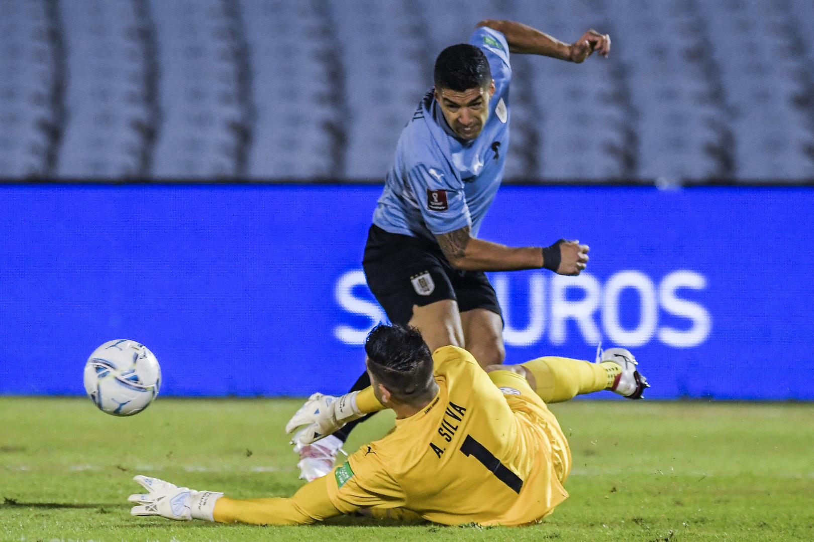 الأوروغواي تهدر نقطتين أمام باراغواي في تصفيات كأس العالم (فيديو)