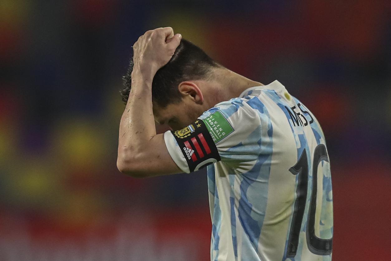 تعليق ميسي بعد التعادل أمام تشيلي: كانت مباراة استثنائية بسبب مارادونا