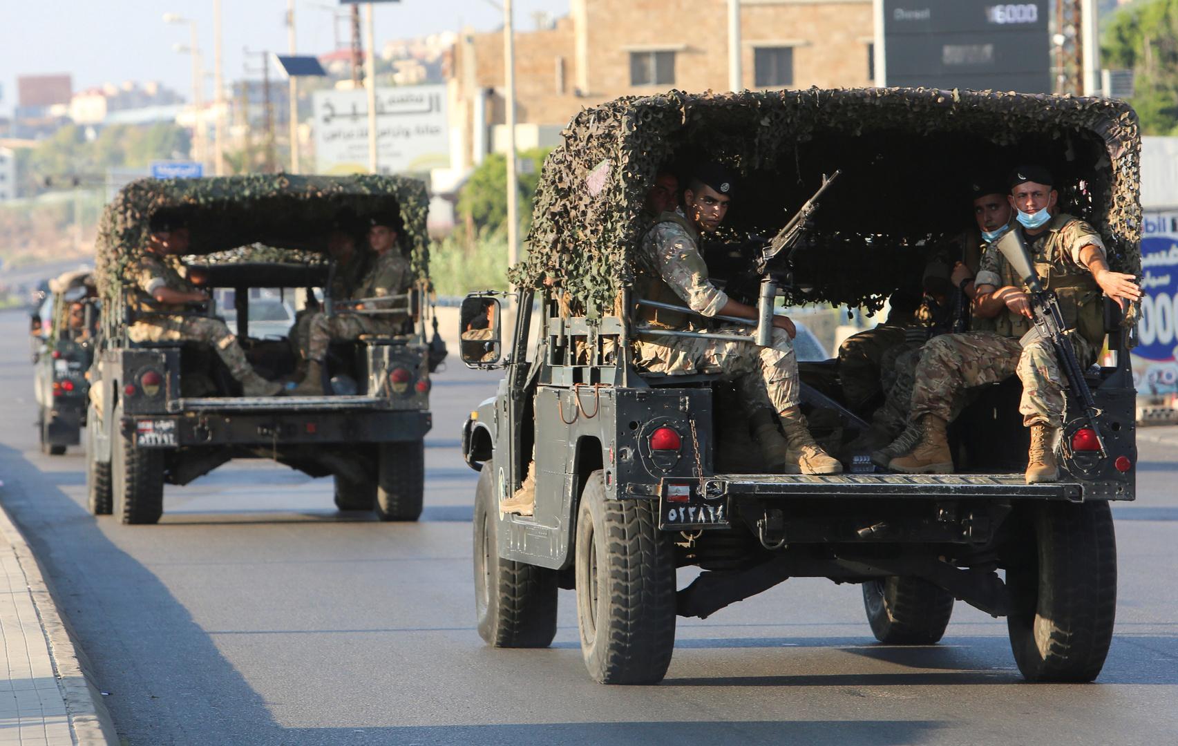 لبنان.. الجيش يشن حملة واسعة على مصانع المخدرات في البقاع