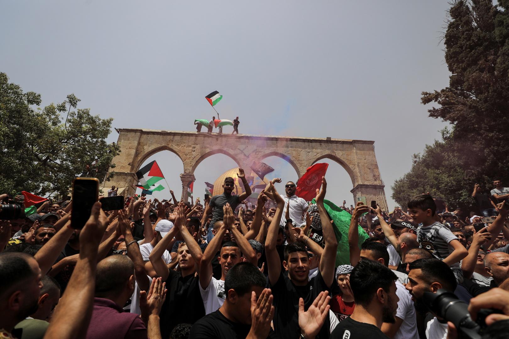 بالفيديو.. مواجهات في جنوب نابلس بين الجيش الإسرائيلي وفلسطينيين