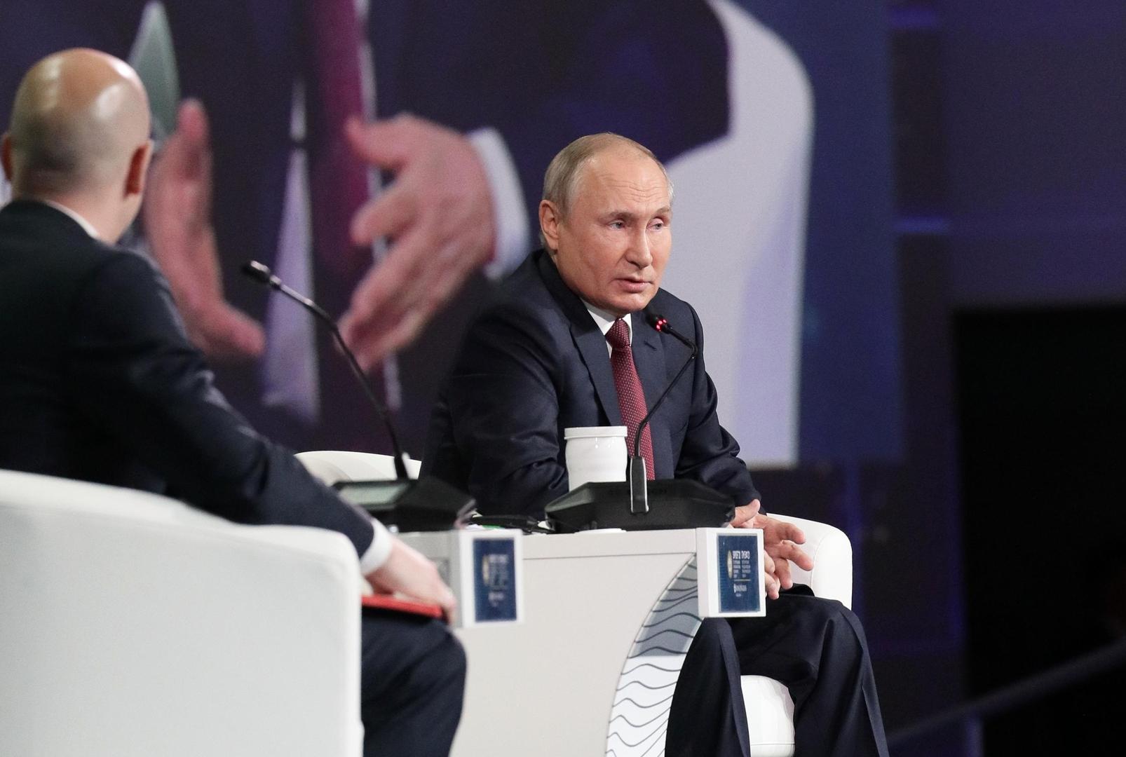 بوتين يكشف عن الأولوية في محاربة تغيرات المناخ